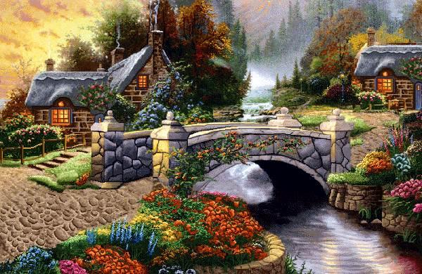 نقاشی پل سنگی