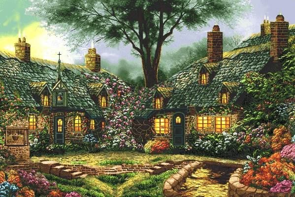 خانه های سنگی طبیعت