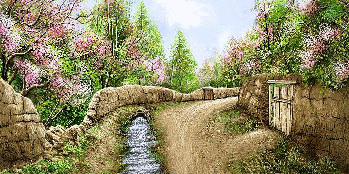 بهار در روستا
