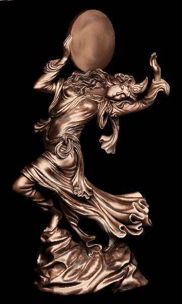 تندیس دختر رقاصه