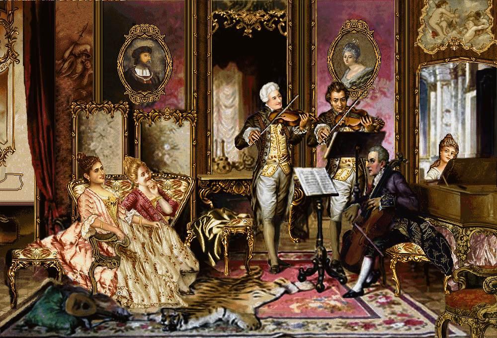 نوازندگان در مهمانی