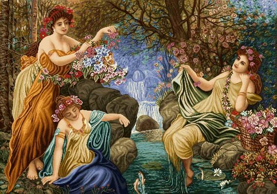 سه فرشته کنار رودخانه