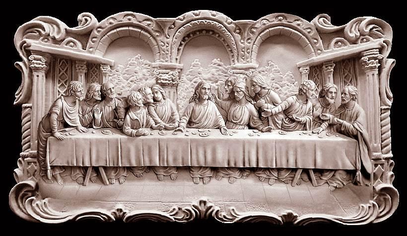 تندیس تابلو شام آخر