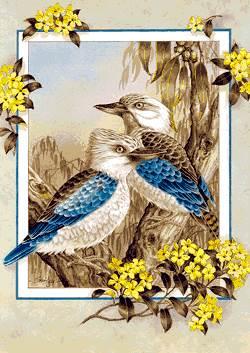تابلو پرنده