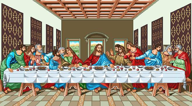 تابلو شام آخر