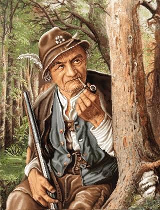 پیرمرد شکارچی