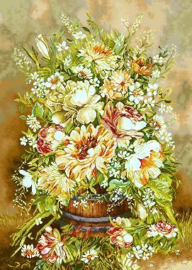 گلدان گل