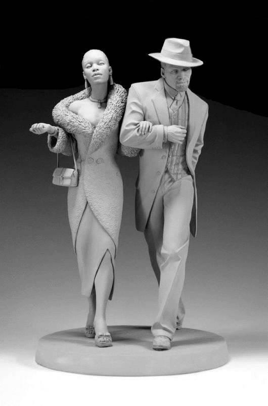 زن و مرد دست در دست