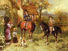 اسب سواری اشرافی